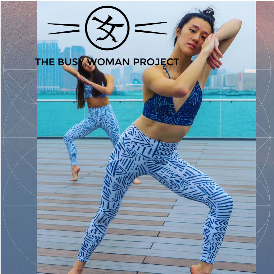 "BUSY WOMAN PROJECT - ""SharedSpace is there early in the Asian market for Movement, through podcasts and shows. As movement teachers discover the power of personal branding, we are there to support them with business strategy. We'll continue to roll with the market."""