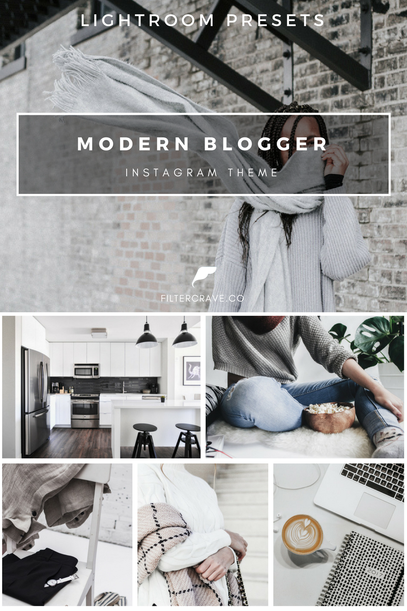 Brand your Instagram with these professional Lightroom filters and speed up your photo editing workflow. Modern Blogger Insta-Theme Lightroom presets are crafted to give your images clean modern look.    #lightroompresets #lightroom #photoediting #photooftheday #photography #photographytips #instagram #instagramtheme #blogger #blogging #bloggerlife #modern #aesthetic