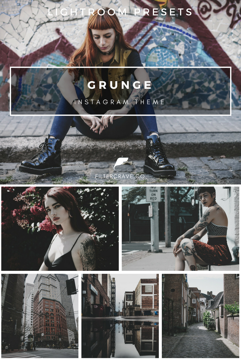 Grunge lightroom presets