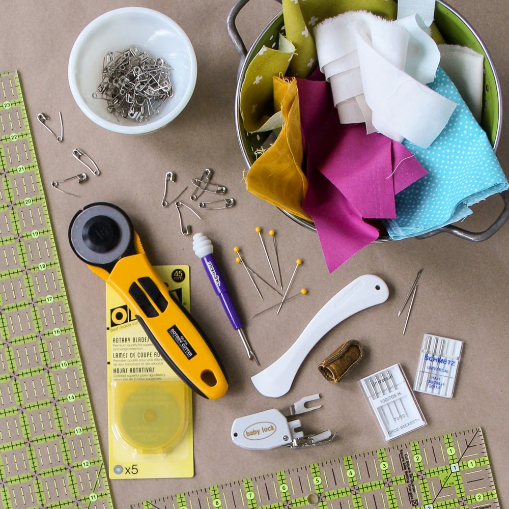 Quilting Basics: Tools & Notions — Village Bound Quilts