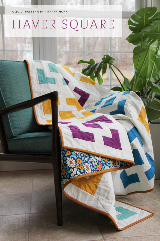 Haver Square Quilt Pattern | Village Bound Quilts