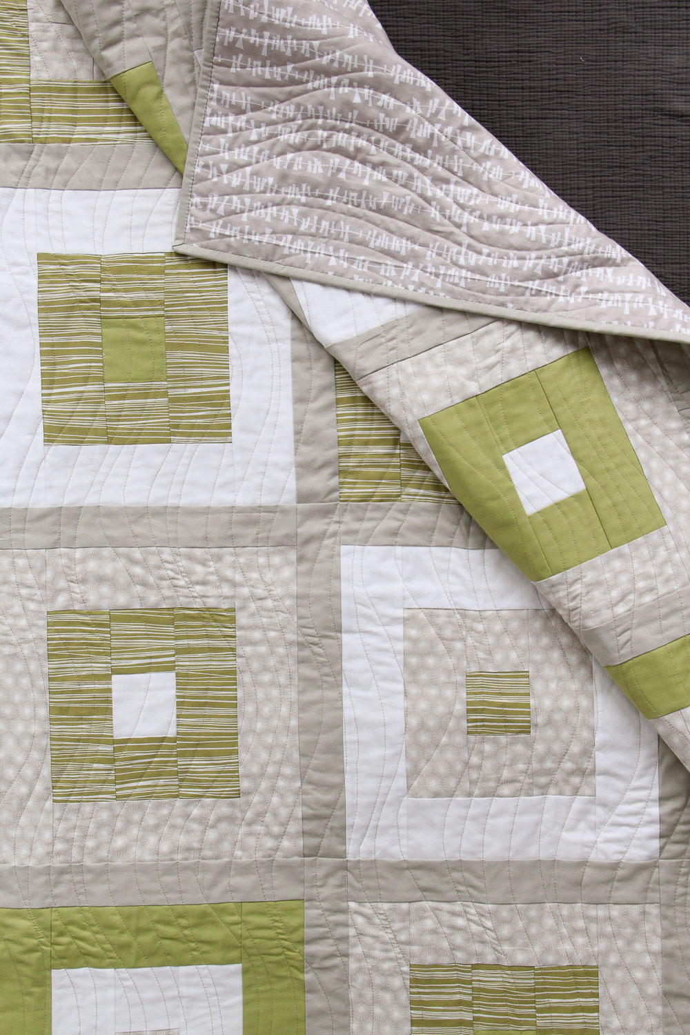 Variegated Squares Quilt - Village Bound Quilts