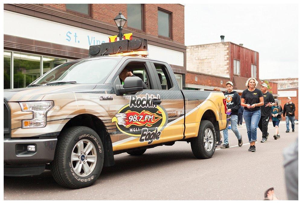 The Rockin' Eagle Radio Station