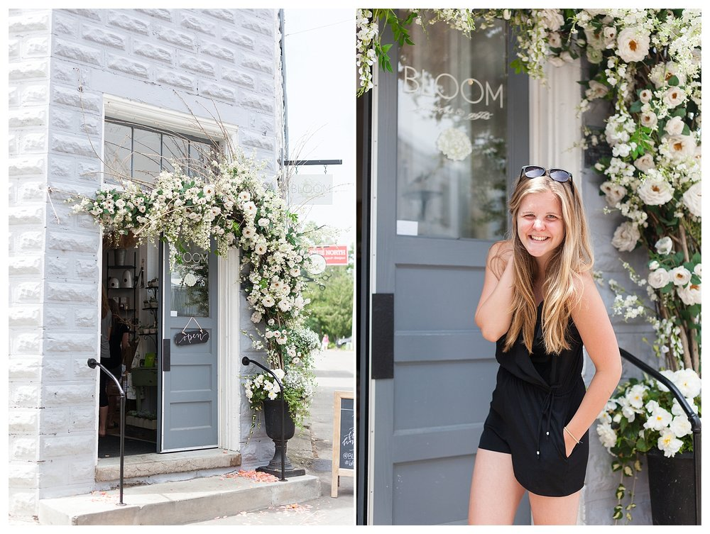 This town is a photographers paradise!!! The local floral shop  Bloom  was ridiculously adorable and picturesque!!