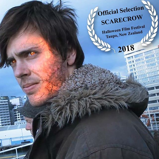 """Scarecrow"" Dreams' short film in the Taupo Halloween Film Festival! Represented there by @bopfilm  Check out our short link in Bio #taupohalloweenfilmfestival #halloween #shortfilm #filmfestival #newzealand #la"