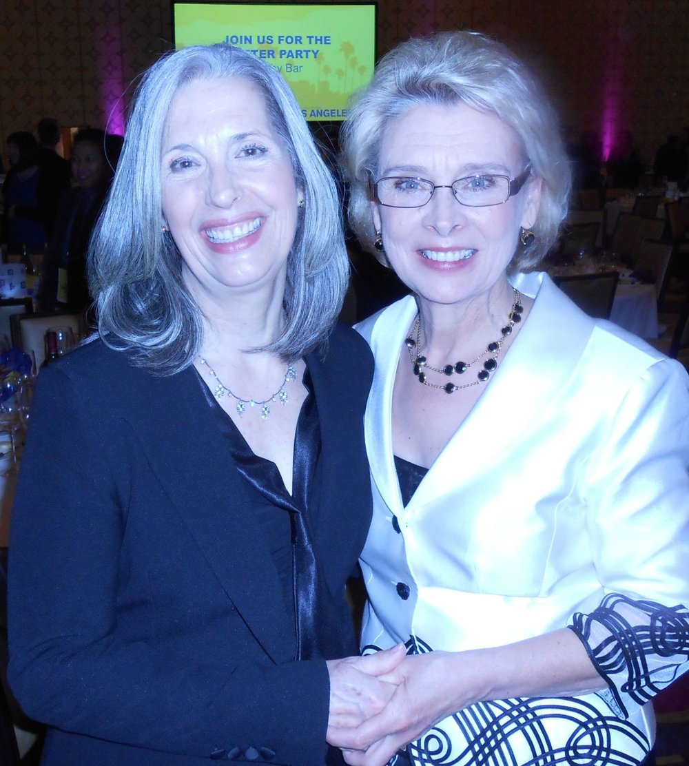 April Brown with Governor Christine Gregoire