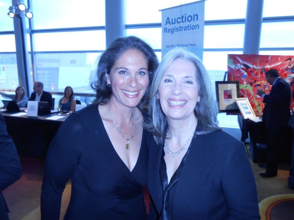 Dana Goldberg and April Brown