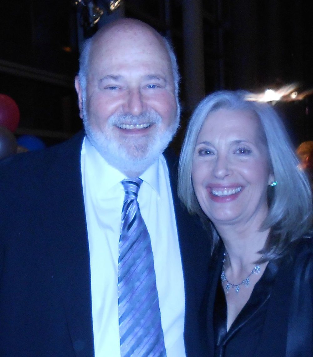 April Brown and Rob Reiner