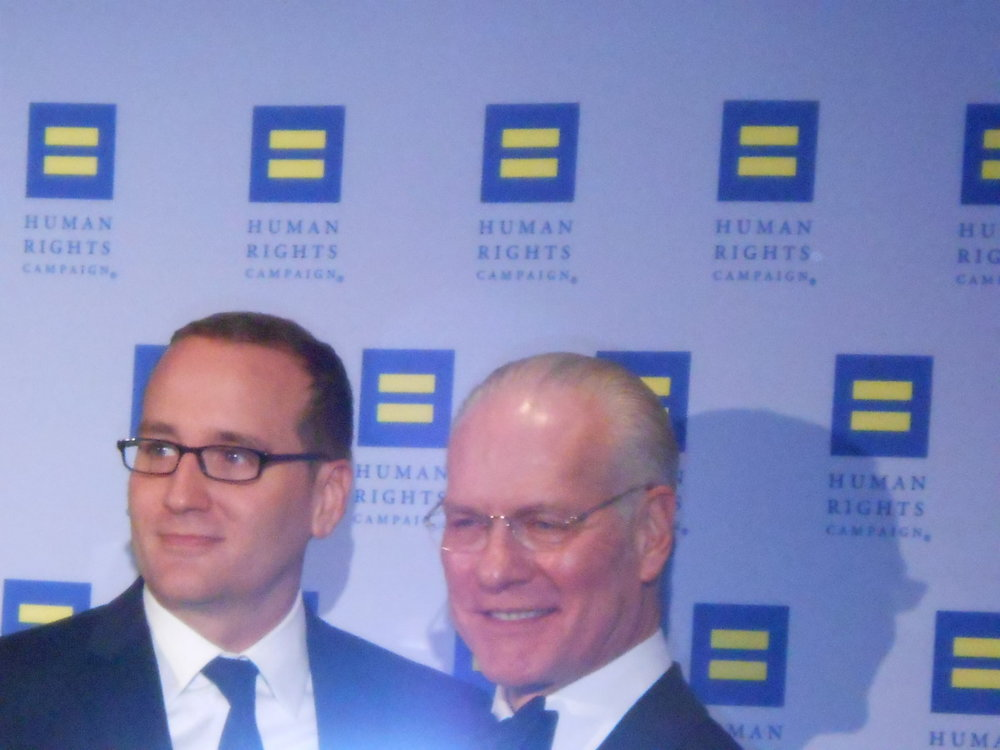 Chad Griffin and Tim Gunn