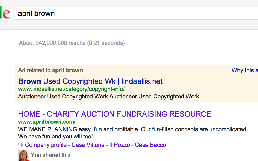 google ad april brown uses copyrighted Screen Shot 2012-05-11 at 7.19.33 AM.jpg