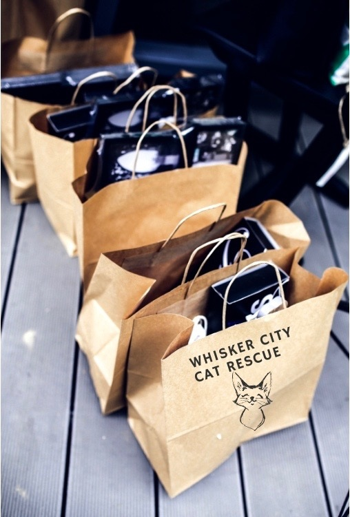 Sponsored Gift Bags - Whisker City Cat Rescue in Shoreline, Washington