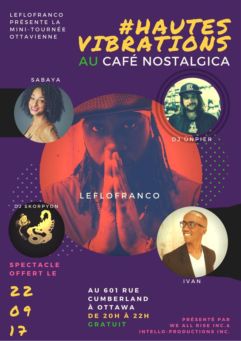 #HautesVibrations @ Café Nostalgica