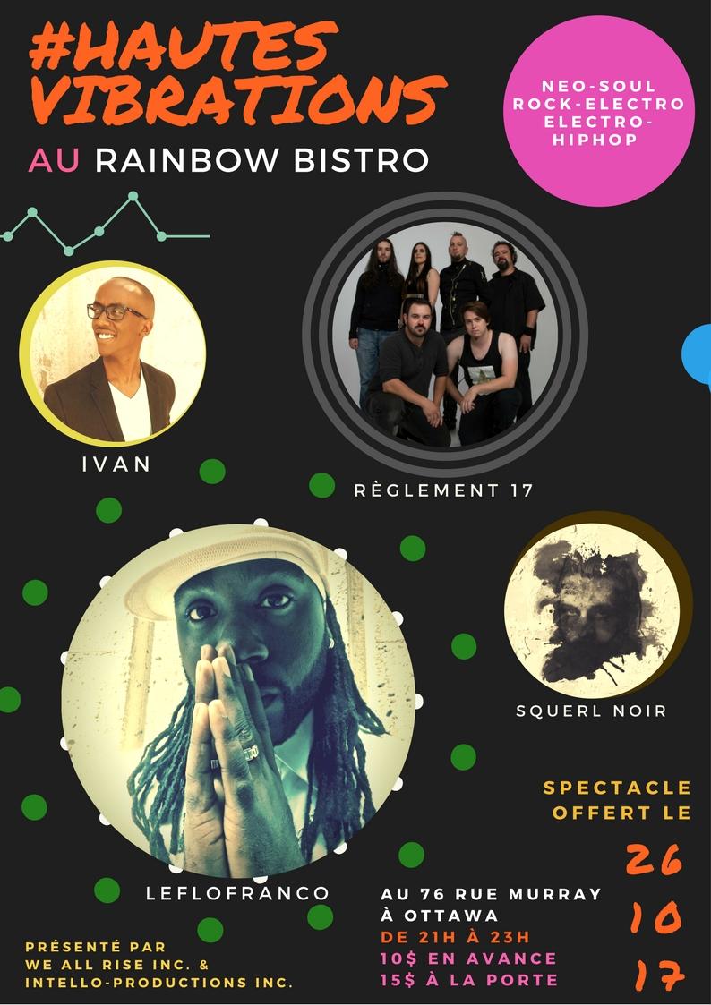 #HautesVibrations @ The Rainbow Bistro