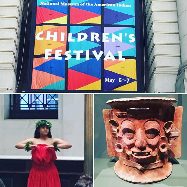 Great time at the children's festival! #timetravelkidsnyc