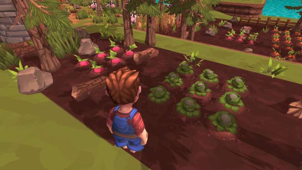 The new cauliflower crop in game!