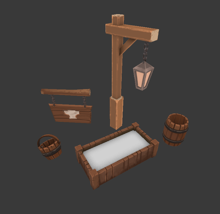 Some various town clutter