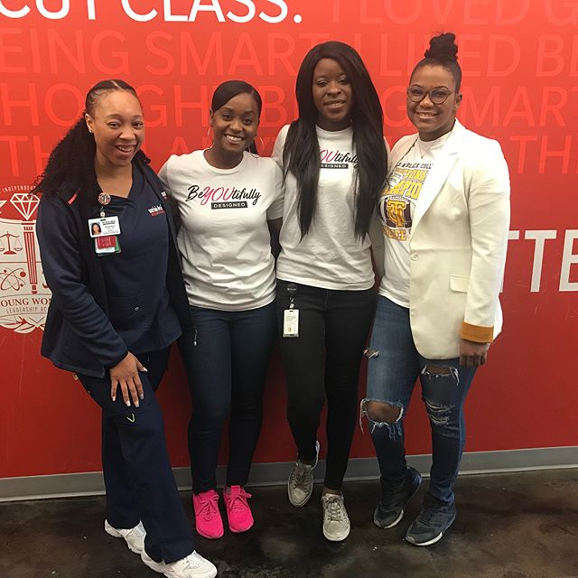"Today we held our first ""Confident in My Career S.T.E.M. Panel with the 6th grade G.E.M.S. at  the Young Women's Leadership Academy- Ft. Worth. Thank you to @sheisalexandria_ @with_an__i and @ashotofesso for sharing your career journey with our future leaders! • • • #giveback #nonprofit #nonprofitorganization #stemeducation #stemgirls #girlsrock #girlempowerment #girlsmatter #ourfuture #philanthropy #encourage #inspire #volunteerwork #futureleaders #communityovercompetition #charity #teamwork #bebold #beconfident #beyou #beyoutifullydesignedorg"