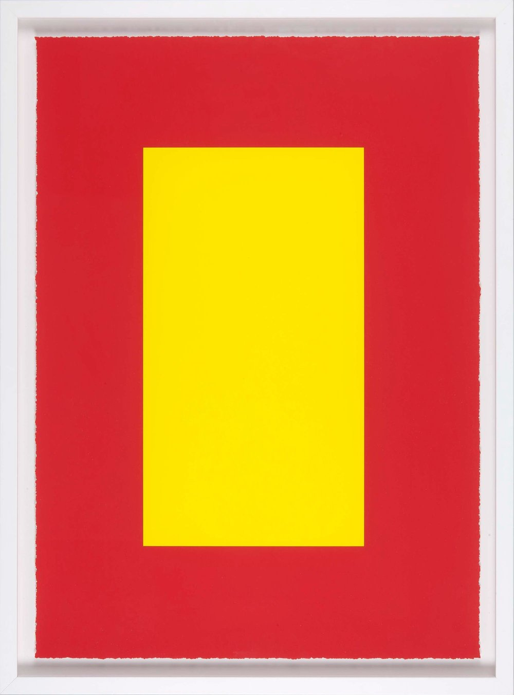 Julian Dashper  Untitled (Self Portrait as Donald Judd) , 2008 Digital print on cotton rag paper, framed, 700 x 500 mm