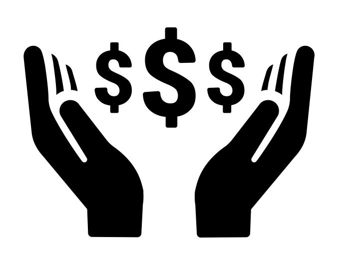 Income stream graphic