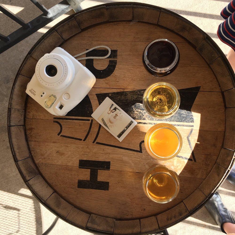 Craft beer + analog photography