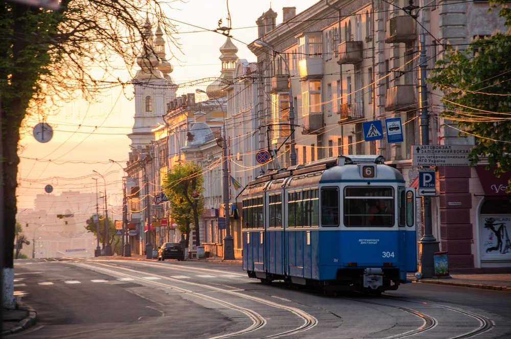 Город Винница – «тихое местечко» -