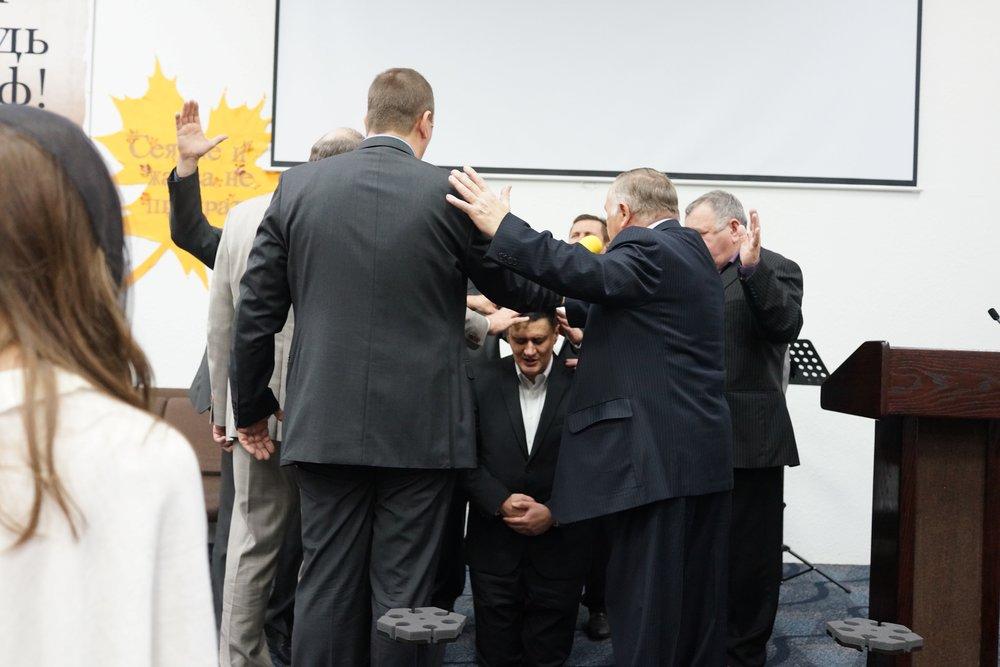 Рукоположение служителя 2017