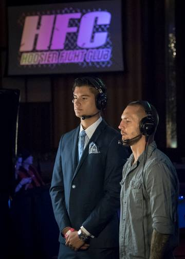 Miguel Flores (Left) and Eddie Wineland (Right) prepare to call HFC 30
