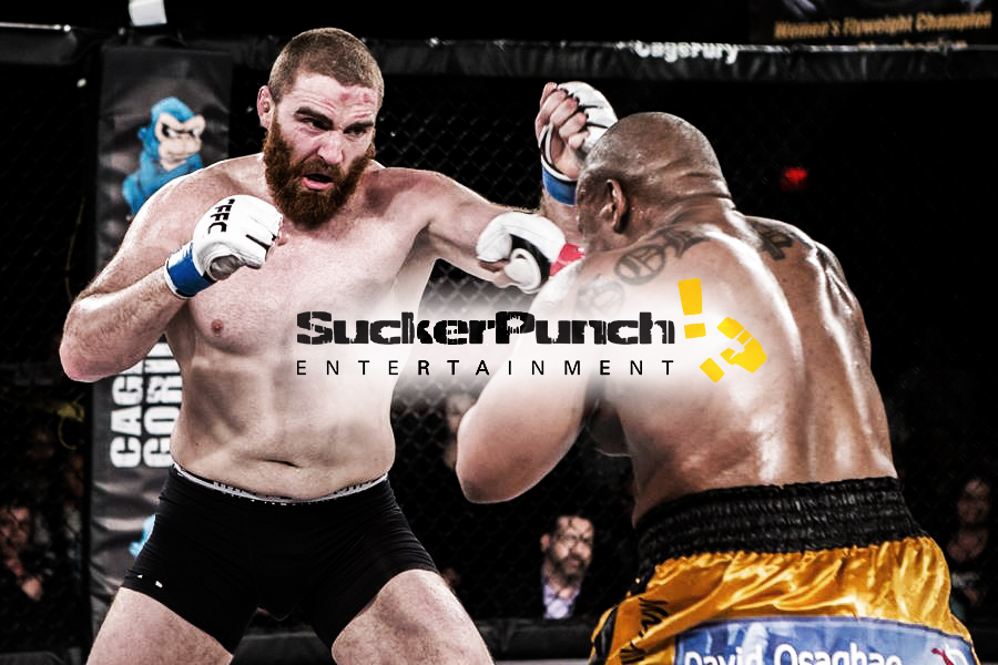 SuckerPunch Entertainment Athlete Chris Birchler in action at a CFFC event