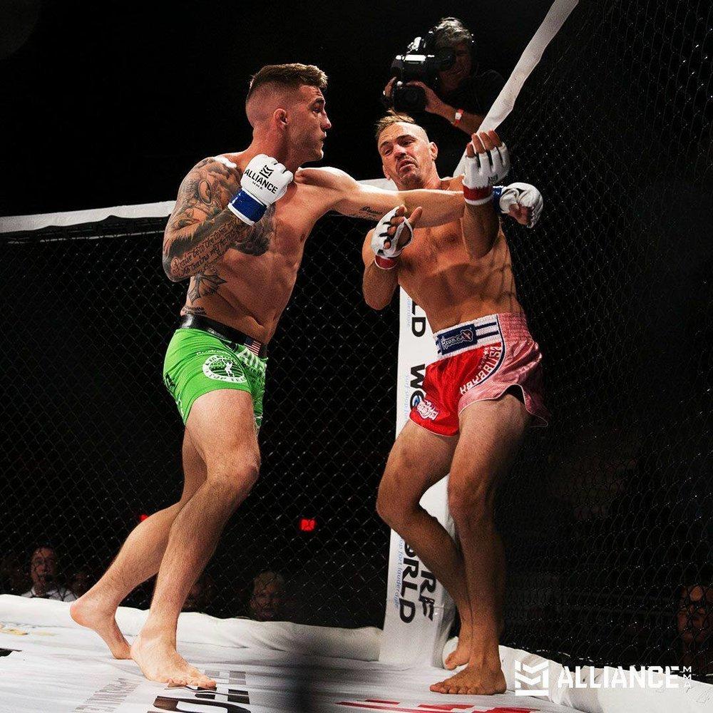 Caleb Williams def Matt McCook via KO