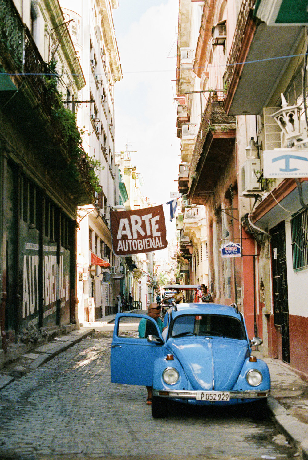 The streets of Havana