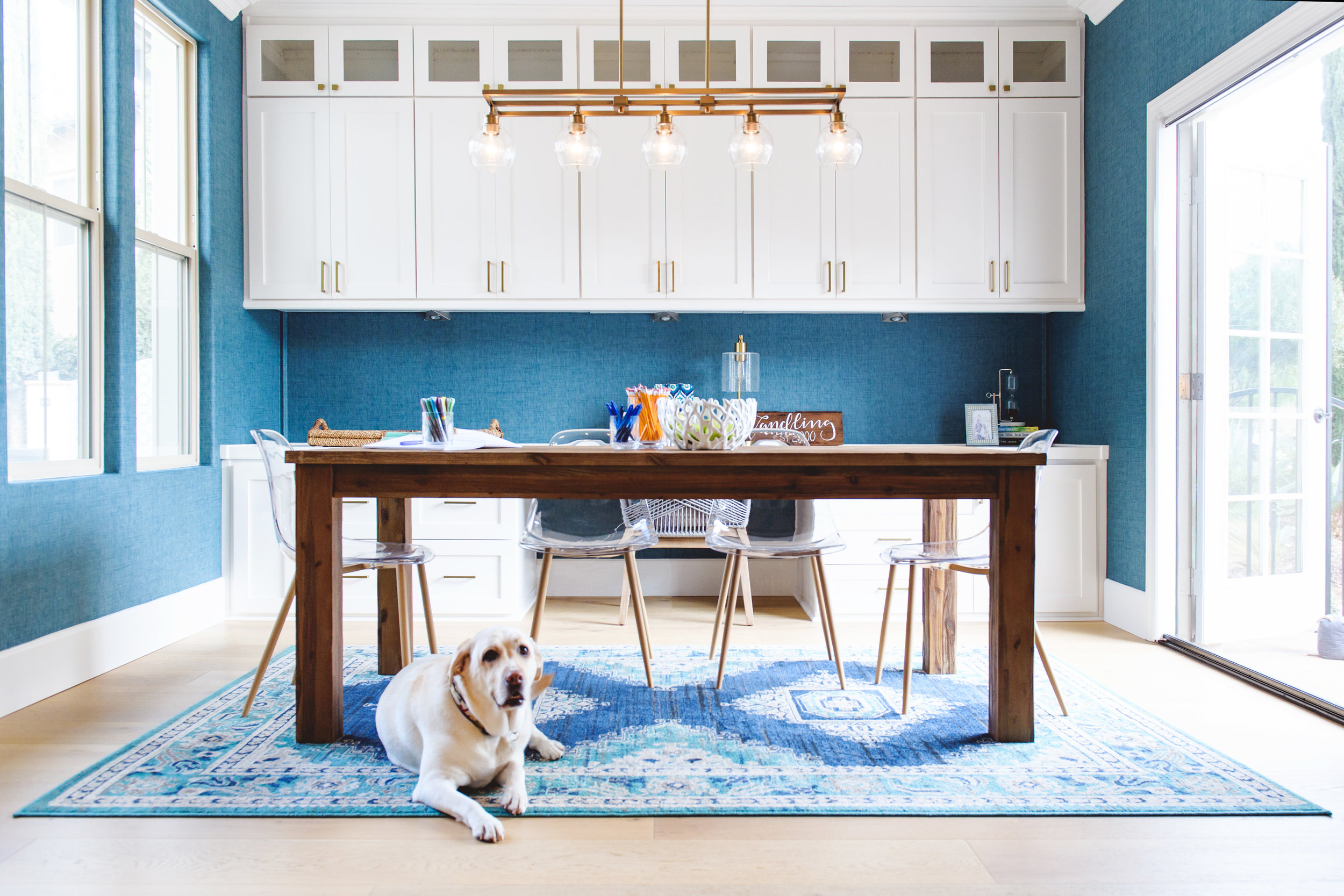 2018 Color Of The Year: Office Remodel For The Whole Family U2014 Savvy  Interiors