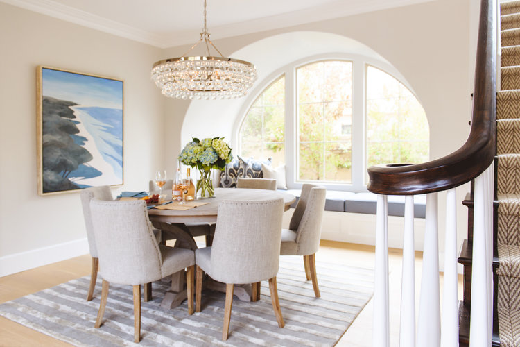Staycation at Home: Classy Coastal Dining Room — Savvy Interiors