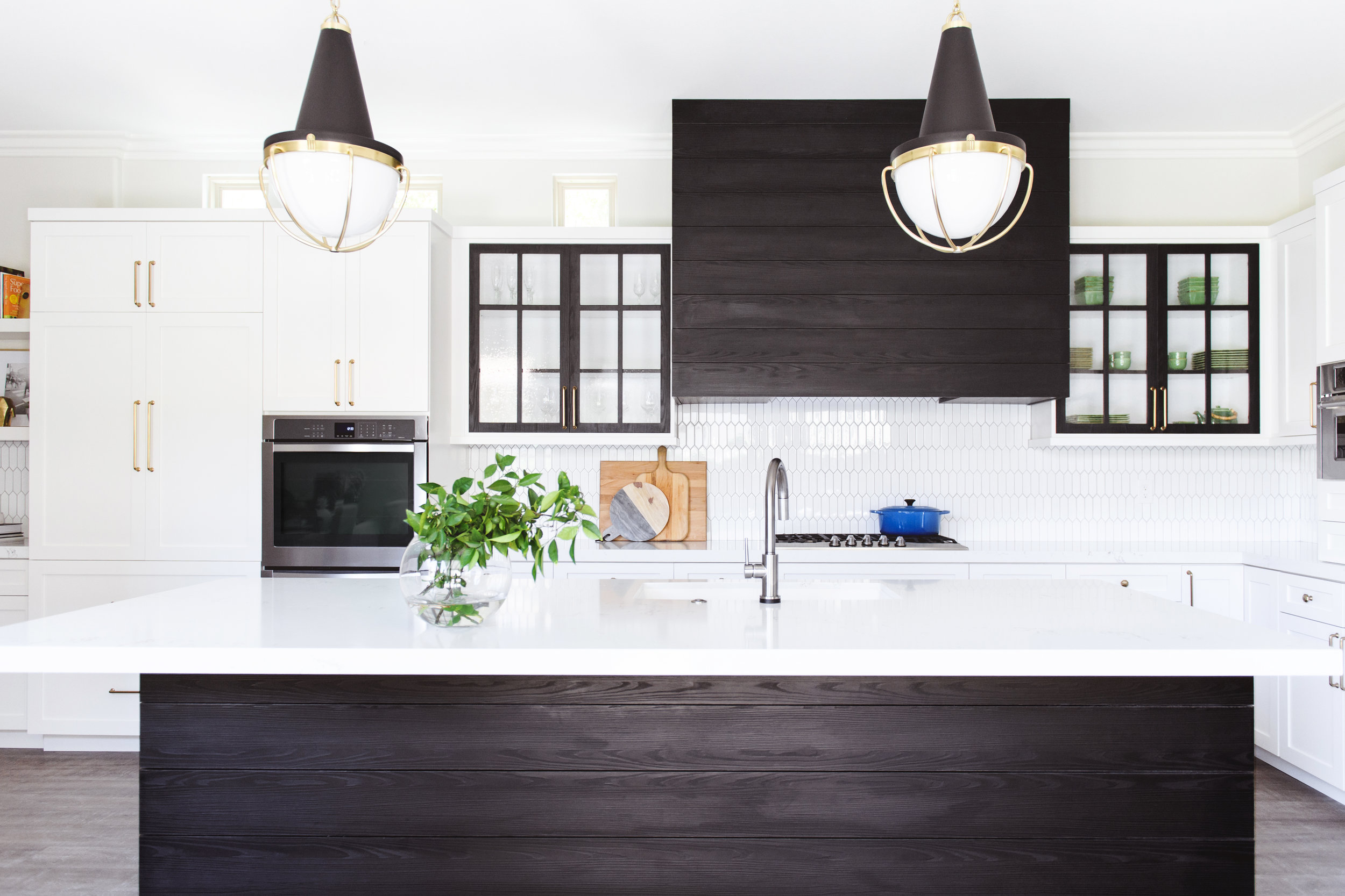Creating A High Contrast Kitchen Remodel