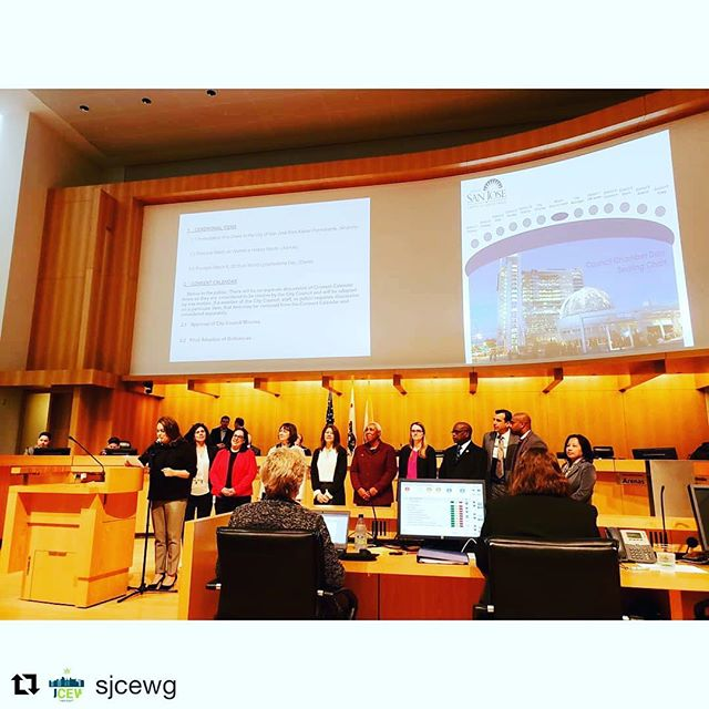 Great news from San Jose! #Repost @sjcewg with @get_repost ・・・ WE DID IT! WE DID IT! WE DID IT!  Our equity program passed at yesterday's San Jose City Hall meeting!!! It was an emotional moment, after almost 5 hours of going through many details, the votes were re-counted a handful of times while we waited patiently for the verdict.  We would like to extend our deepest gratitude to Councilmembers Magdalena Carraso and Raul Peralez for championing our equity program and to Vice Mayor Chappie Jones and Councilmembers Sergio Jimenez, Sylvia Arenas and Pam Foley for voting yes on cannabis equity.  Thank you Mike Chavez, Luke Bruner and Issa@meadow.sf for driving down and supporting us, your presence was the encouragement we needed to realize victory.  We have worked arduously and under pressure since Jan '18, we could not have crossed the finish line without the leadership of Dr. Armaline, his ability to articulate our equity program with City Council and City Staff has made all the difference in the world.  A huge shout out to every member of our working group and everyone involved behind the scenes these past 14 months. Our next task at hand is to work with City Staff to submit our SB 1294 application as well as continuing to work on the streamlined path towards implementation.  Lastly, Thank You to all of our industry supporters, one day soon we will proudly join you in the world of regulated cannabis.  Si se puede. Together we can.  #cannabisequity #southbay #sanjose #santaclaracounty #cannabisculture #ganjier #workworkwork