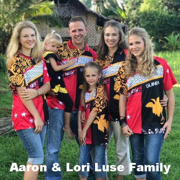 Church Planter and Consultant: Papua New Guinea: Aaron and Lori are working among the Patpatar people leading an infant church, discipling believers, creating resources, teaching literacy, translating the Old Testament and evangelizing local tribes.https://ethnos360.org/aaron-luse -