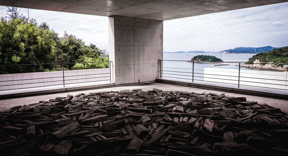 Benesse House, Naoshima art island, Japan