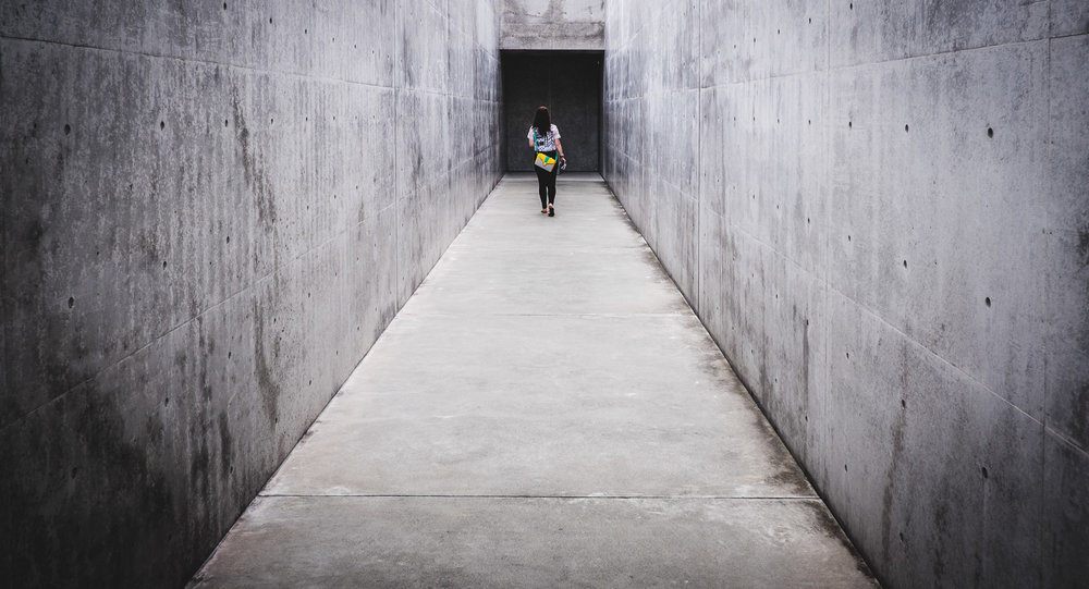 Lee Ufan Museum, Naoshima Art Island, Japan
