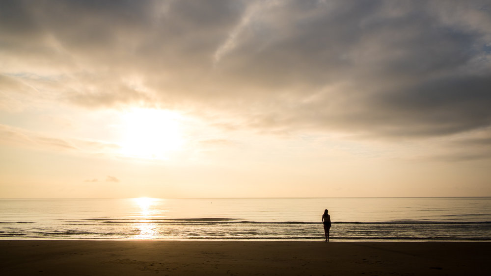 Sunrise at Castaways Resort, Mission Beach, Tropical QLD