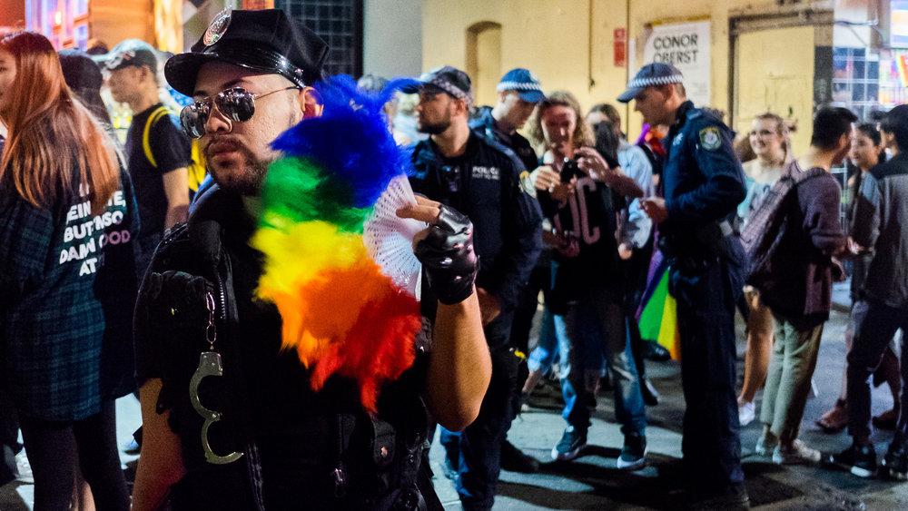 Sydney Mardi Gras - Street Portrait