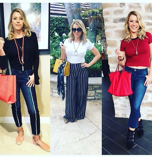 Obsessed with @jodiesweetin's looks this week on @hollywooddarlings! How many ARD pieces do you spot? (Check out the pic on the left and on the right!) #jodiesweetin #hollywooddarlings #fashionblogger #fashionista #uniquelyard #celebdesigner #jewelry #horn #beading #earrings #spring #ootd