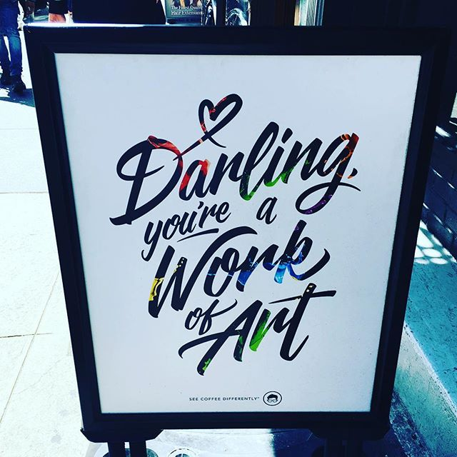 Always a good thing to remember! #motivationmonday #quote #art #fashionblogger #loveyourself #streetart #greatsigns #beyoutiful