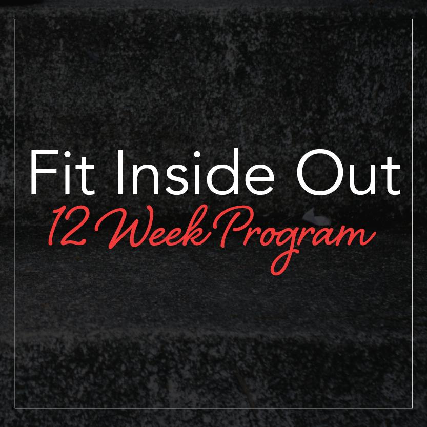 Fit Inside out 12 week fitness program