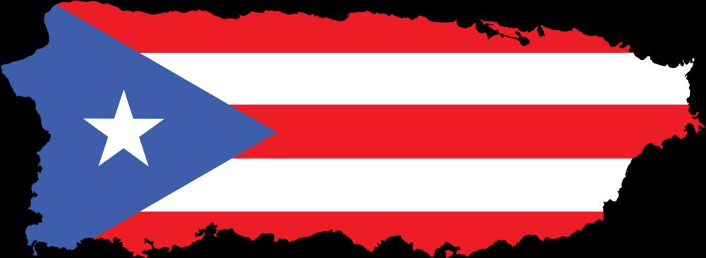Puerto Rico flag island
