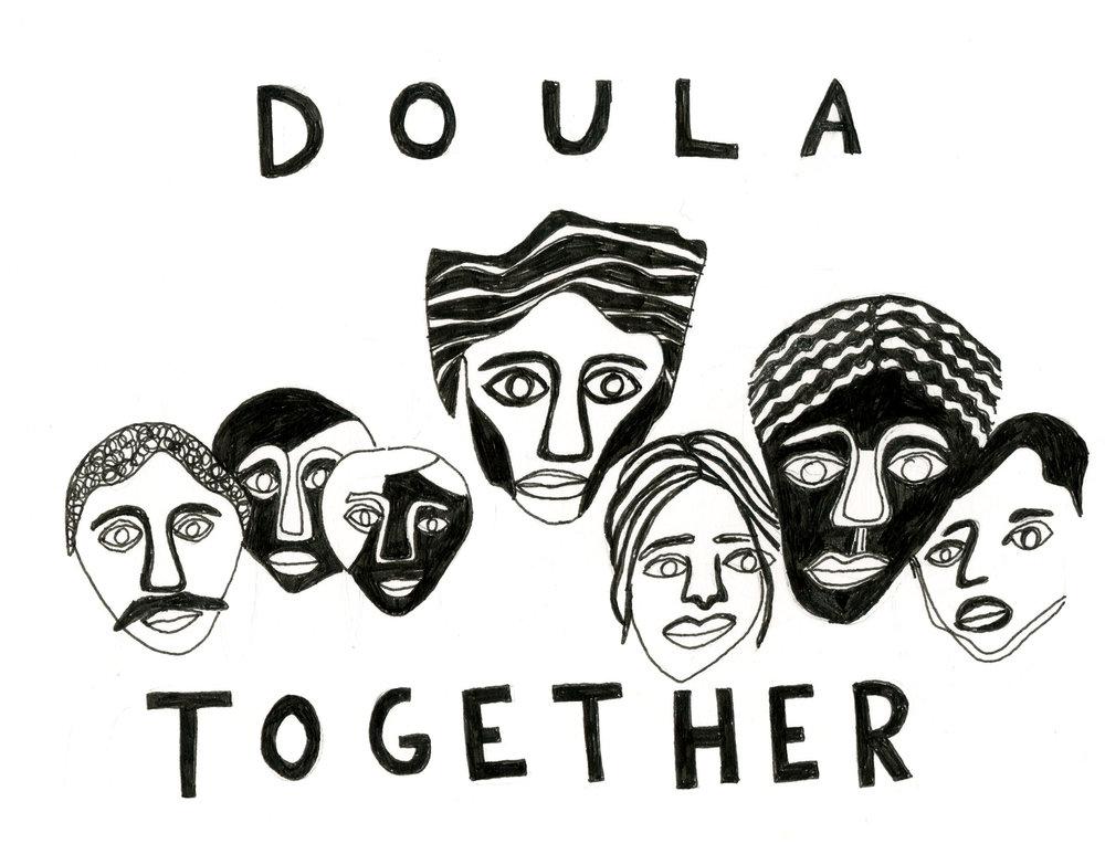 Original Design by kyla krug-meadows for Doula Trainings International (DTI)   click image for more info