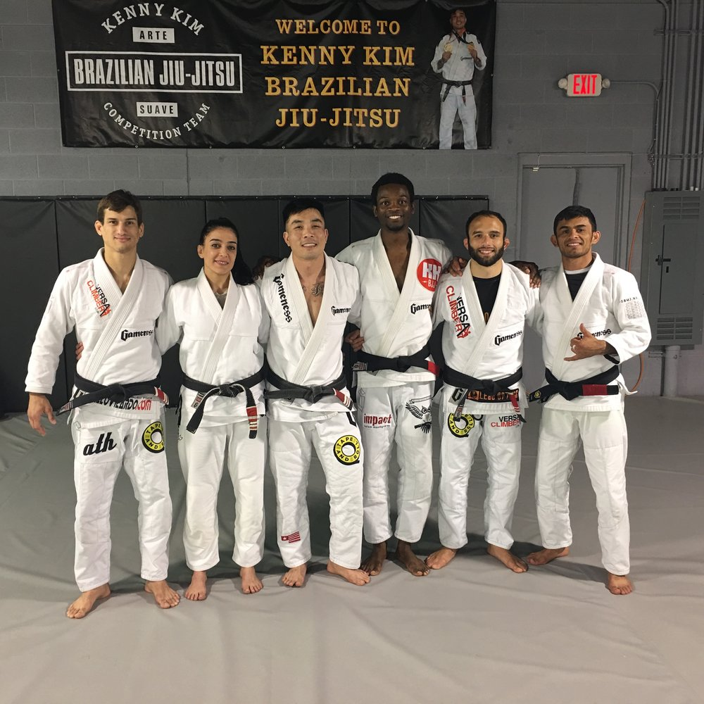 Ares BJJ-Kenny Kim Black Belt's