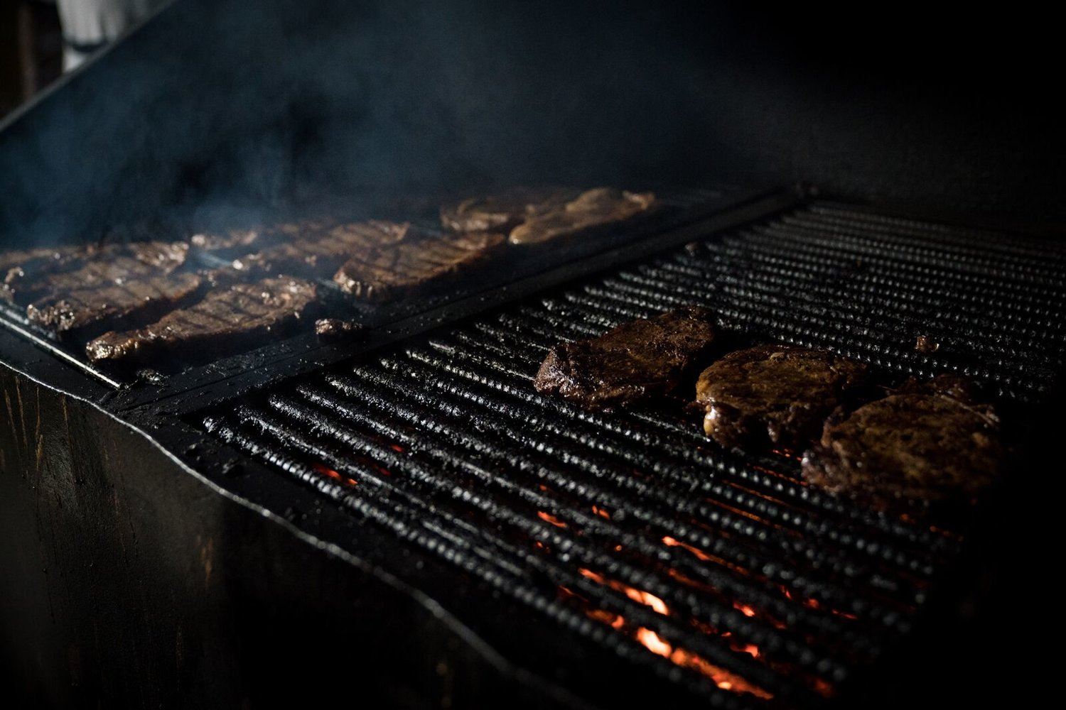 Steaks on the grill at Camp Morehead. Of all the places I have been in Afghanistan, Camp Morehead is by far my favorite. I hope to return someday.