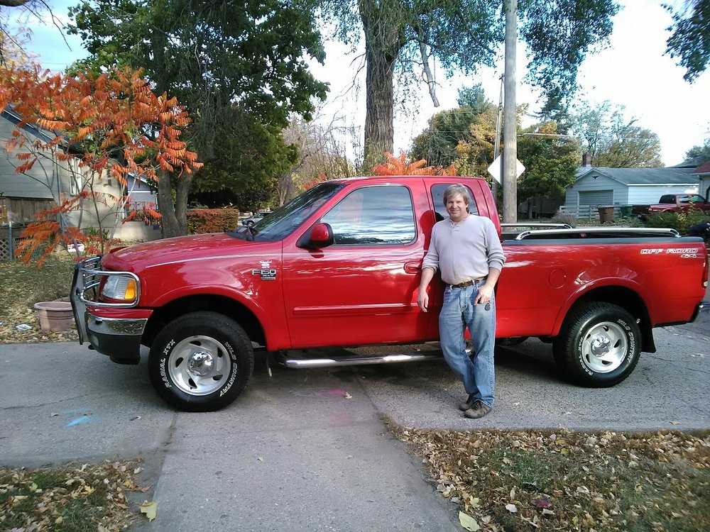 My dad the day he got the truck.