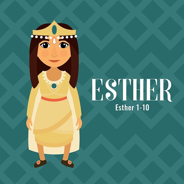 Esther! A page from our Women in the Scriptures book. The books should be here middle of June! We can't wait!