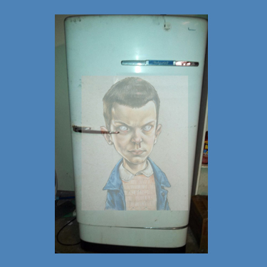 GRAHAM VITTUM - COMMISSION: VINTAGE FRIDGE