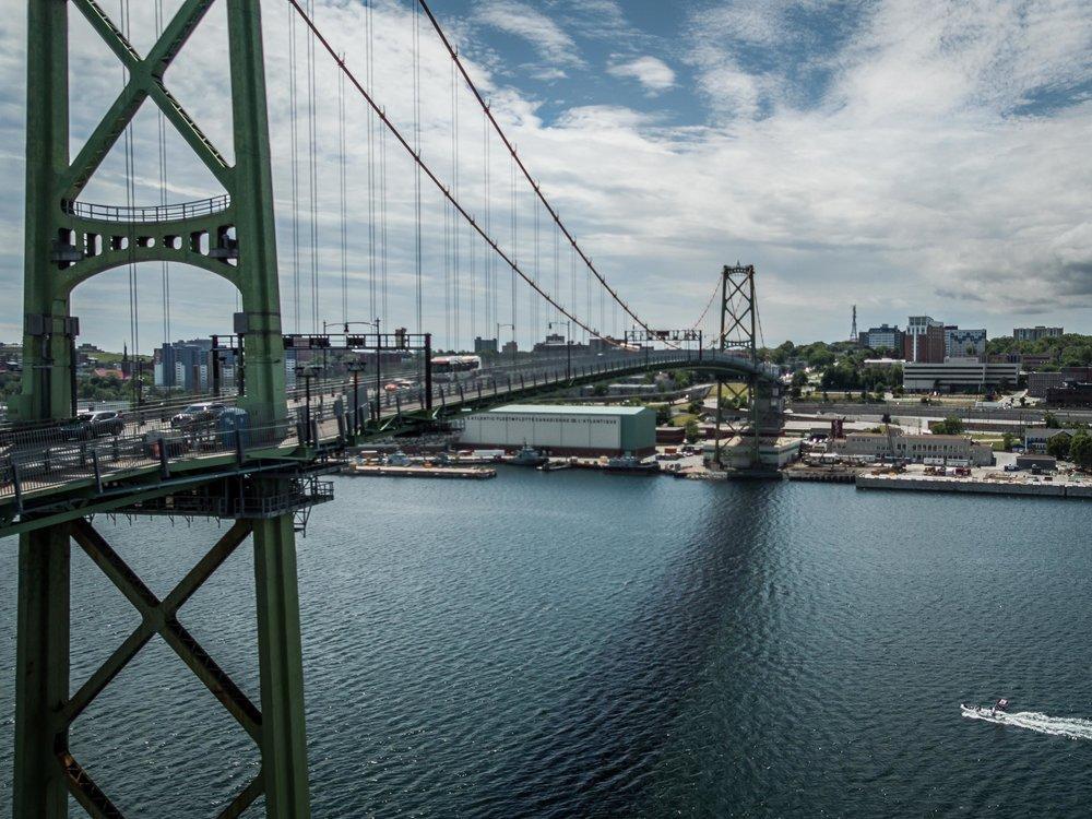 Macdonald Bridge, Halifax